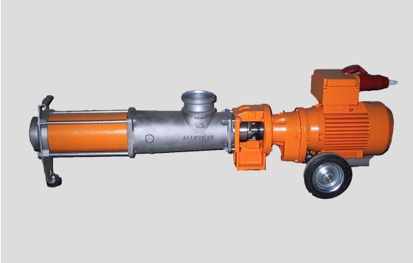 Exzenterschneckenpumpe SP4 mit Bypass