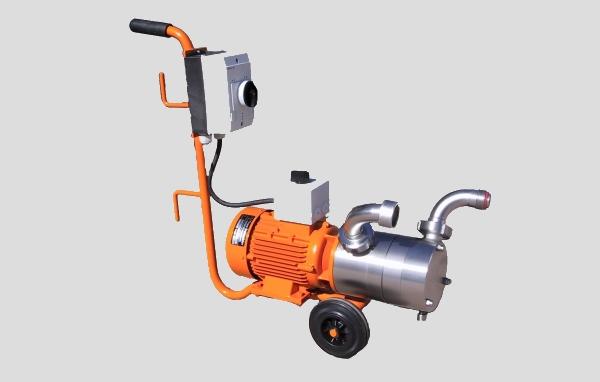Selbstsaugende Dauerbetriebskreisel- Pumpe Duplex